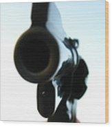 Gun Wood Print