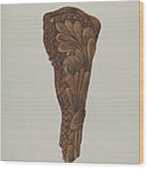 Gun Holster Wood Print
