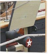 Gun Port Wood Print