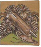 Gunfighter S Legacy Wood Print