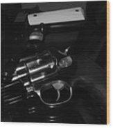 Guns And More Guns Wood Print