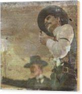 Gunslinger II Doc Holliday Wood Print