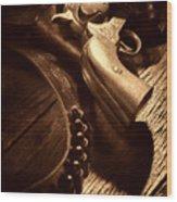Gunslinger Tool Wood Print