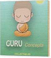 Guru Concepts Logo Wood Print