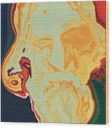 Gurudev Wood Print
