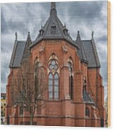 Gustav Adolf Church Facade Wood Print