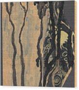 Gustav Klimt's Tears Wood Print