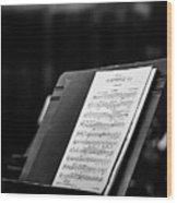 Gustav Mahler Symphony No 1 Wood Print