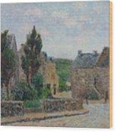 Gustave Loiseau 1865 - 1935 Rue A St. Lunaire Wood Print