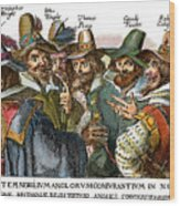 Guy Fawkes, 1570-1606 Wood Print