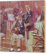 Guy Lombardo The Royal Canadians Wood Print