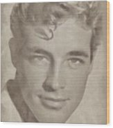 Guy Madison, Vintage Hollywood Actor Wood Print