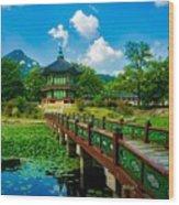 Gyeongbokgung Palace Wood Print