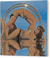 Gymnastic Girls 1209185 Wood Print