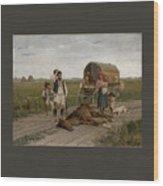 Gypsies Wood Print