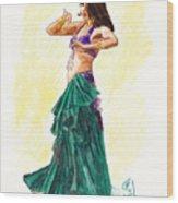 Gypsy Wood Print by Brandy Woods