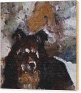 Gypsy Dog Wood Print