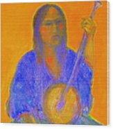 Gypsy Girl 11 Wood Print
