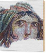 Gypsy Girl Of Zeugma Wood Print
