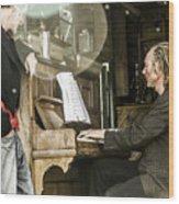 Gypsy Music Wood Print