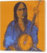 Gypsy Music Wood Print by Johanna Elik