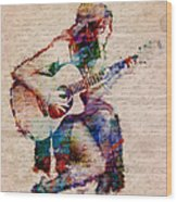 Gypsy Serenade Wood Print by Nikki Smith