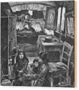 Gypsy Wagon, 1879 Wood Print