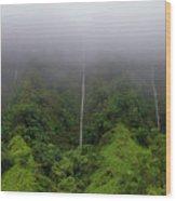H-3 Waterfalls Wood Print