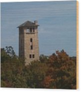 Ha Ha Tonka Water Tower Wood Print