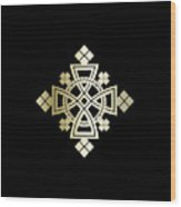 Habesha Holy Cross  Wood Print