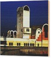 Habibganj Railway Station Wood Print