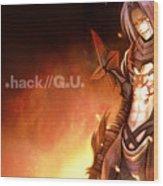 .hack//g.u. Wood Print