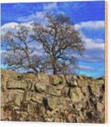 Hadrians Tree Wood Print