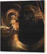 Hadron Collider Wood Print