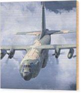 Haf C-130 Hercules Wood Print