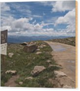 Hagerman Pass View Wood Print