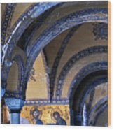 Hagia Sophia Detail Wood Print
