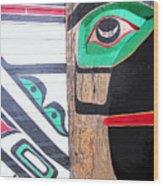 Haida One Wood Print