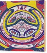 Haida Three Wood Print