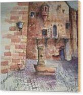 Haidelburg Castle Wood Print
