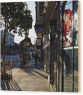 Haight St. Near Ashbury, Sf Wood Print
