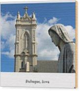 Hail Mary, Full Of Grace Wood Print