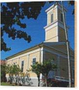 Haili Church - Hilo Hawaii Wood Print