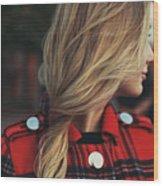 Hair Wood Print