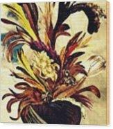 Hairflower Arrangement 2 Wood Print