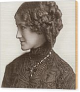 Hairstyle, C1900 Wood Print
