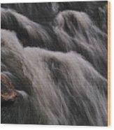 Hairy River Wood Print