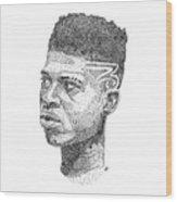 Hakeem Lyon Wood Print