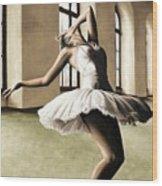 Halcyon Ballerina Wood Print