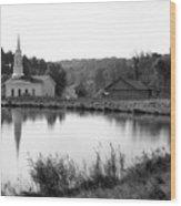 Hale Farm Wood Print
